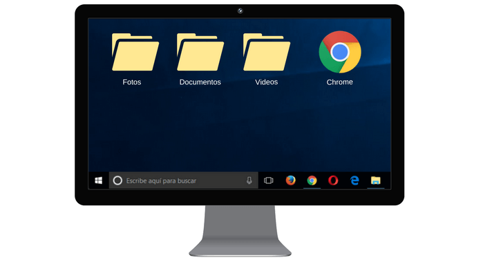 Aumentar tamaño escritorio WIndows 10